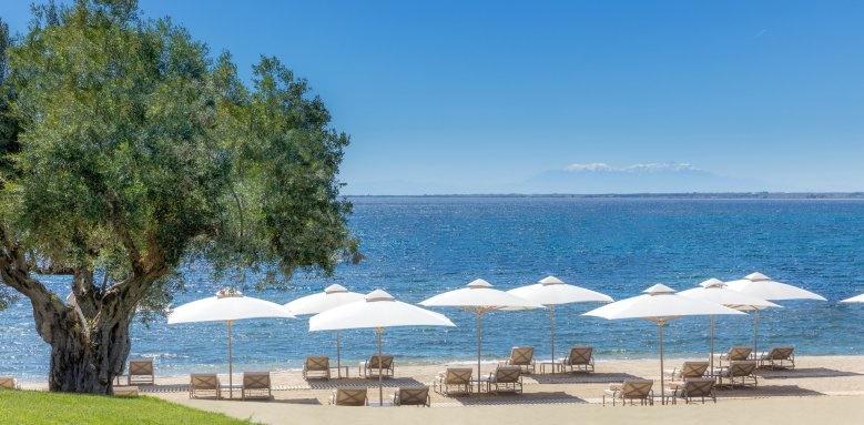 ikos olivia, beach