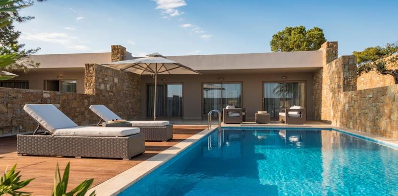 Ikos Dasssia, private pool suite