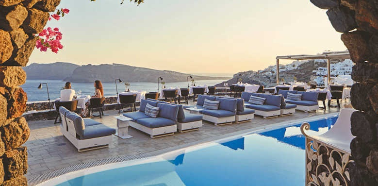 canaves oia suites, petra restaurant