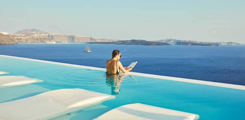 canaves oia suites, infinity pool