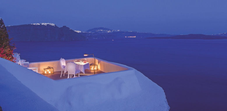 canaves oia suites, suites balcony
