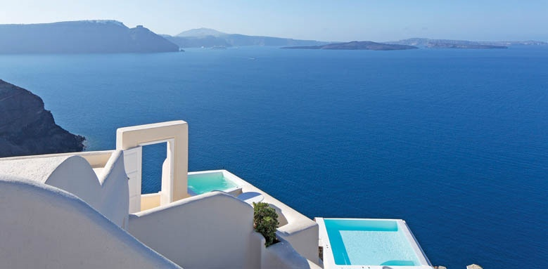 Canaves Oia Suites, pools & view