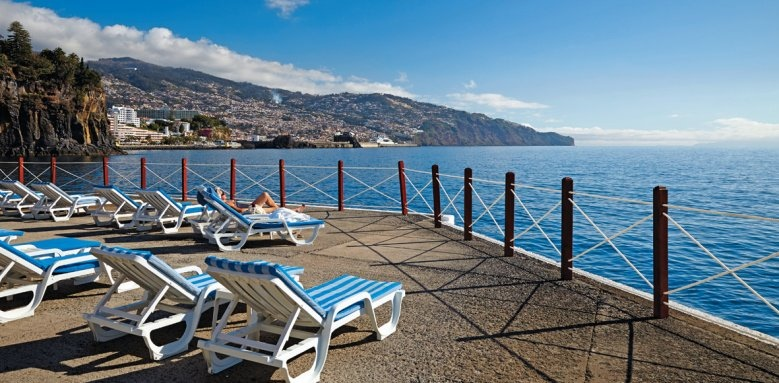 The Cliff Bay, Funchal view