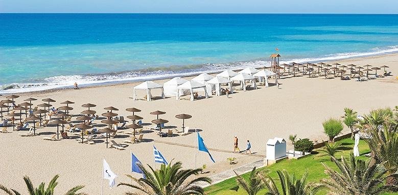 Grecotel Creta Palace, sandy beach
