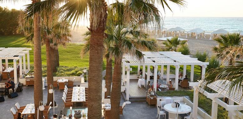 creta palace, fish restaurant
