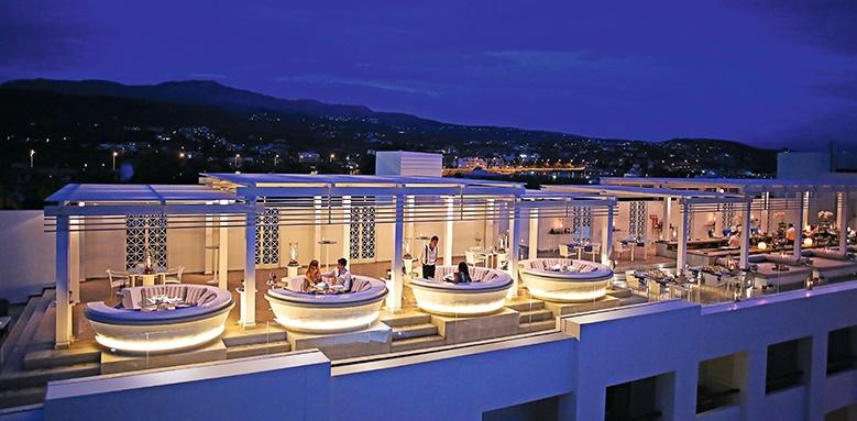 Grecotel Creta Palace, sky bar