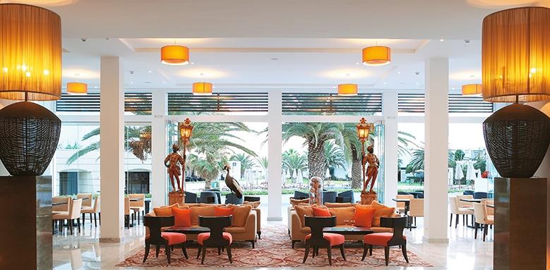 Grecotel Creta Palace, lobby lounge