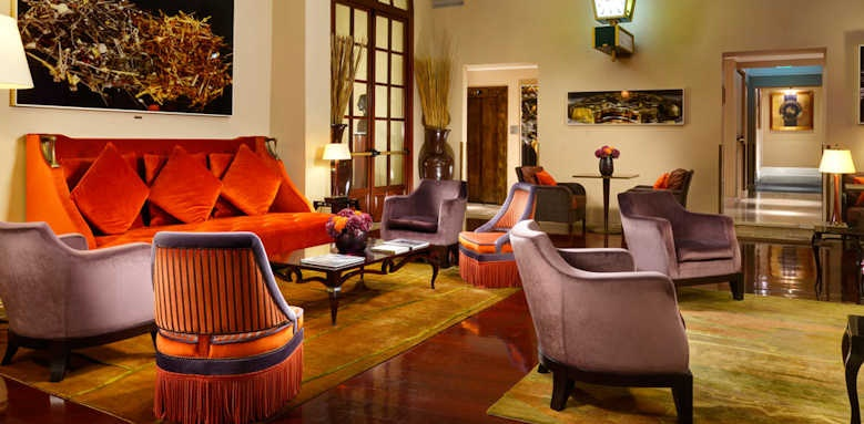 Hotel L'Orologio, sitting area