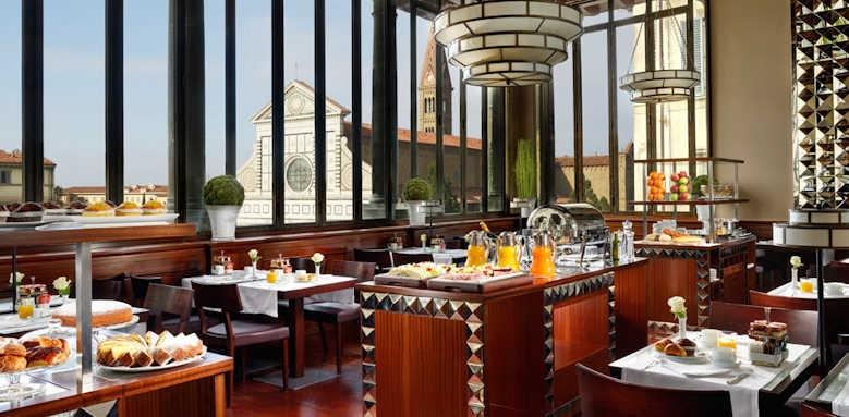 Hotel L'Orologio, dining area