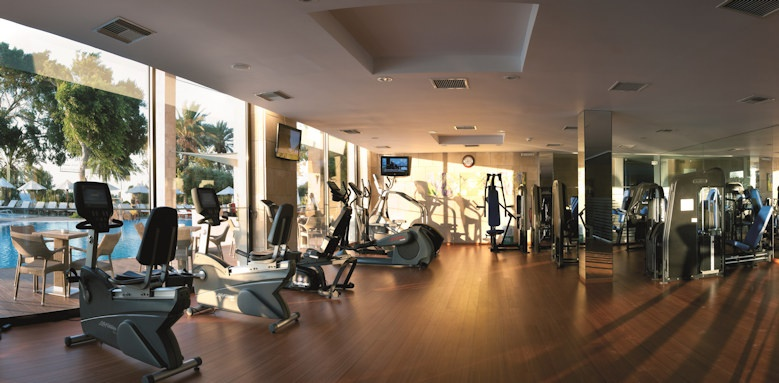 amathus beach, gym