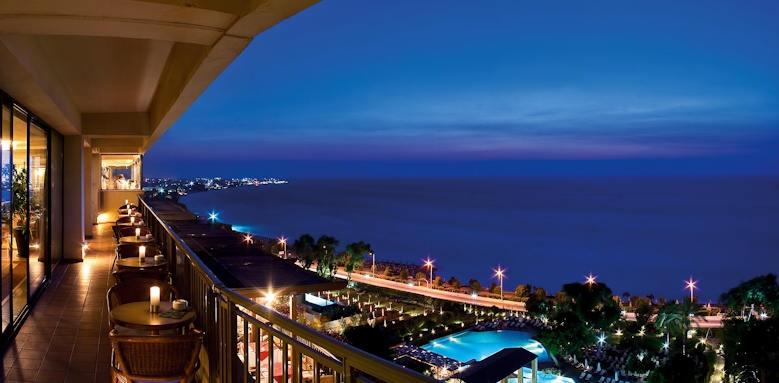 Rhodes Bay Hotel, terrace