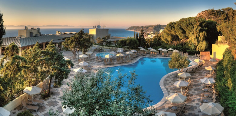 amathus beach, pool terrace