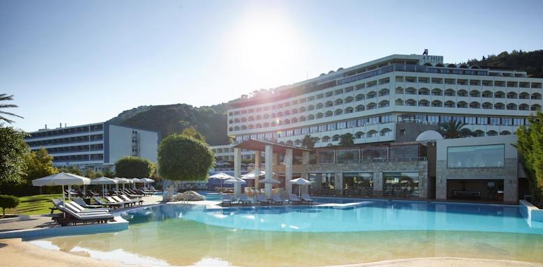 Rhodes Bay Hotel, hotel view