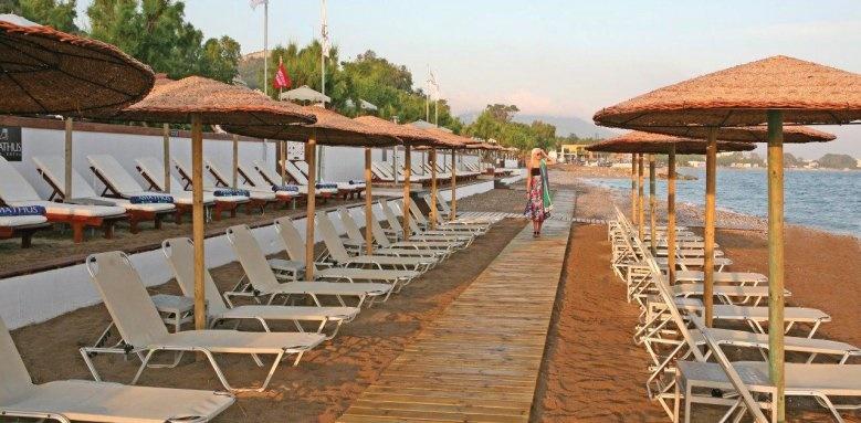 Amathus Beach Hotel Rhodes, beach