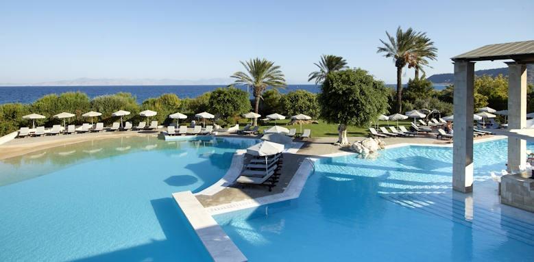 Greece, rhodes bay hotel, main pool