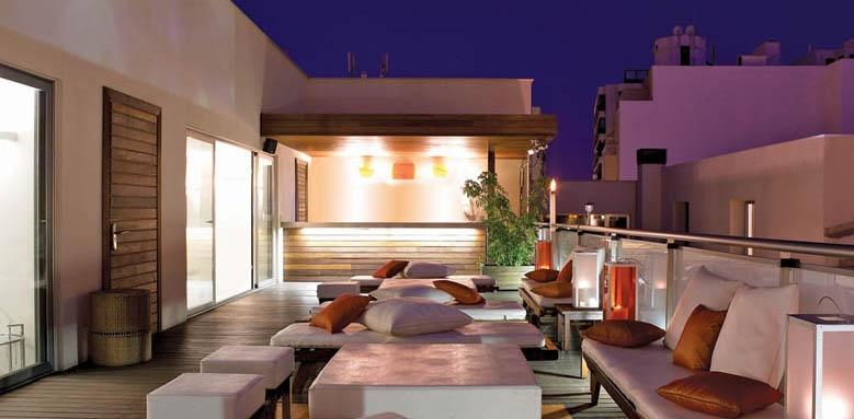 Hospes Amerigo, rooftop lounge
