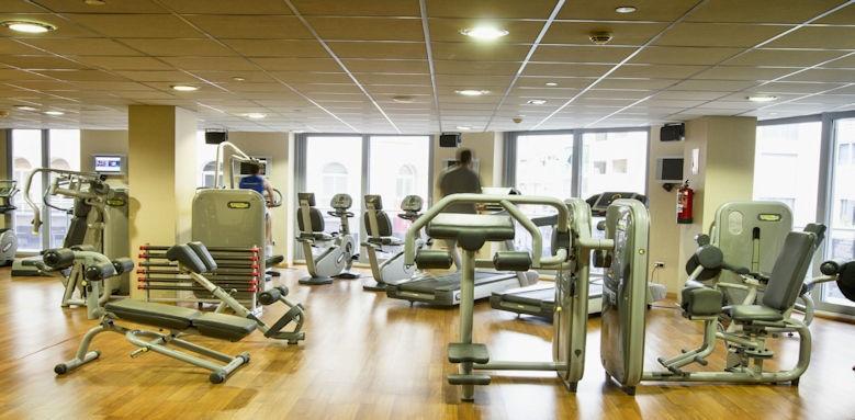 Gran Hotel Sol y Mar, gym