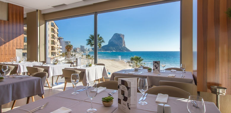 Gran Hotel Sol y Mar, food gallery views