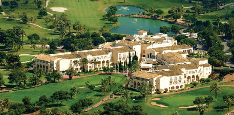 La Manga Club Hotel Principe Felipe, aerial view