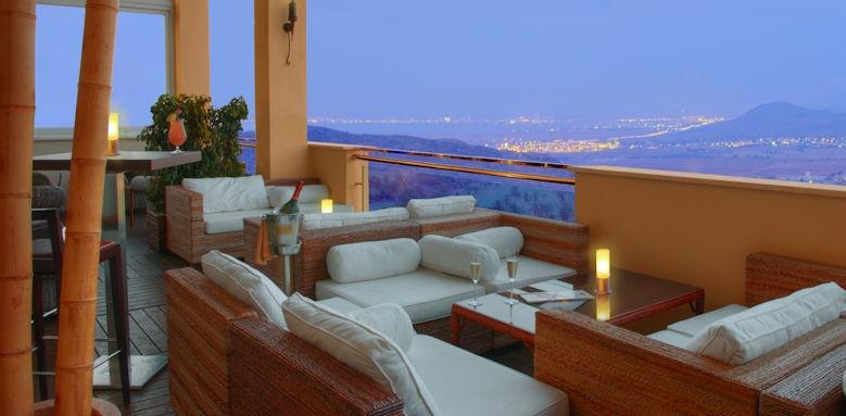La Manga, dhama terrace