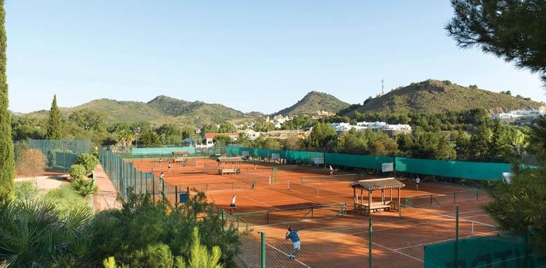 La Manga Club Hotel Principe Felipe, tennis courts