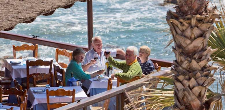 La Manga, restaurant terrace