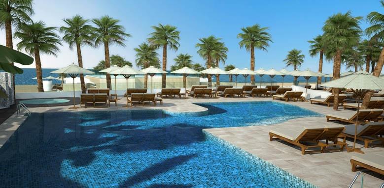 Hotel Fuerte Miramar, Amare beach club pool