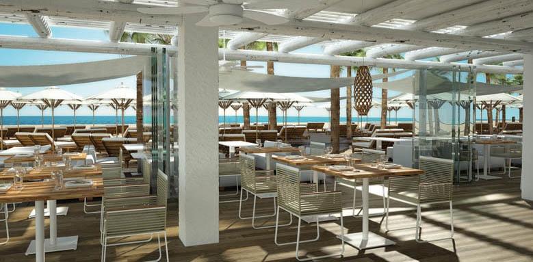 Hotel Fuerte Miramar, Amare beach club restaurant