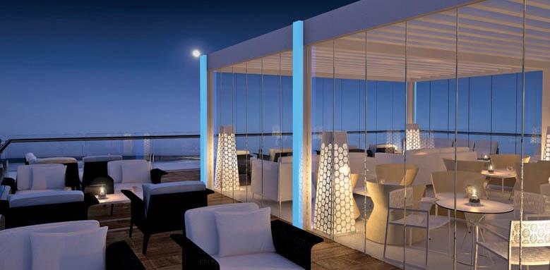 Hotel Fuerte Miramar, Belvue rooftop bar