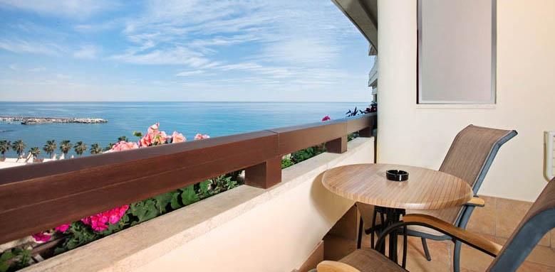 Hotel Fuerte Miramar, double side sea view balcony