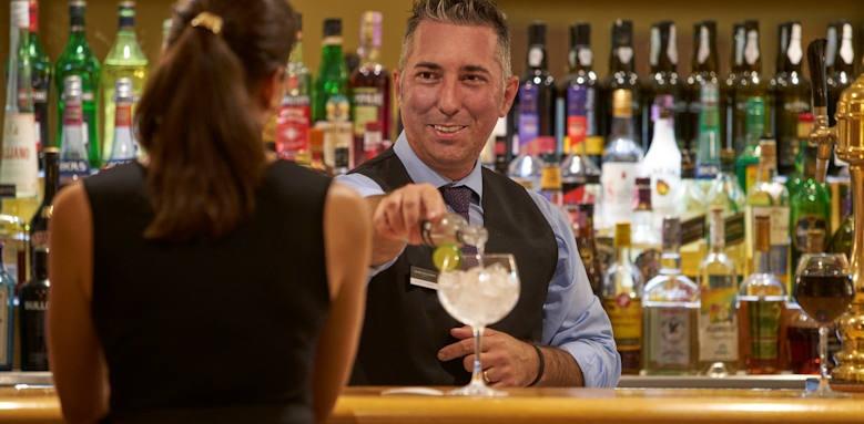 Porto Santa Maria, captains bar
