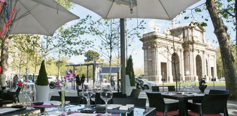 Hospes Puerta De Alcala Madrid, al fresco restaurant