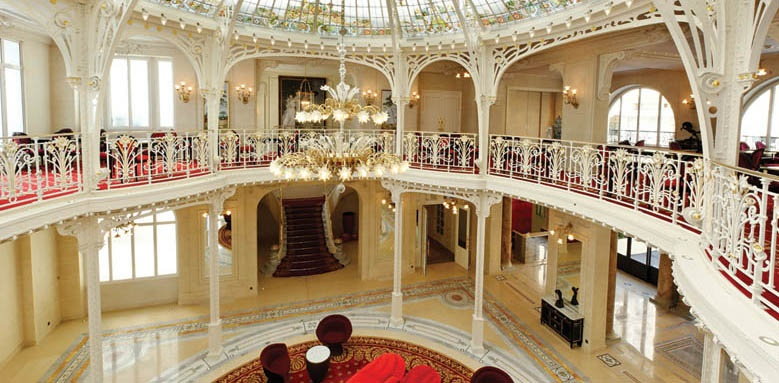 Hotel Hermitage, interior