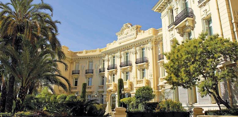 Hotel Hermitage, facade