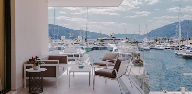 Regent Porto Montenegro, Views