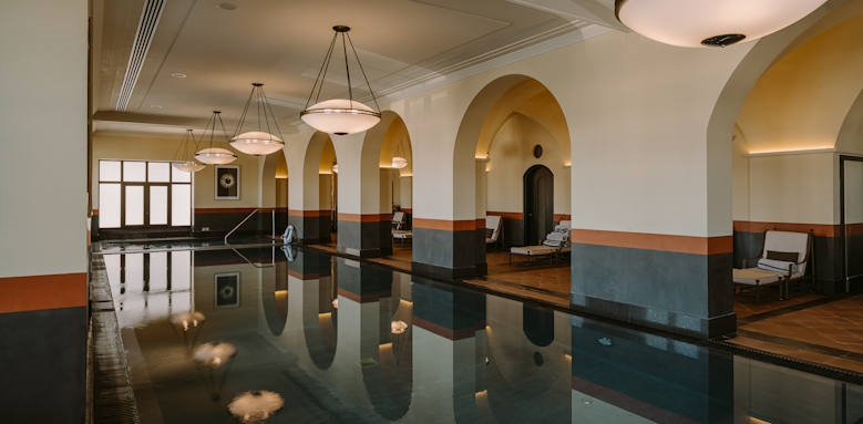 Regent Porto Montenegro, indoor pool