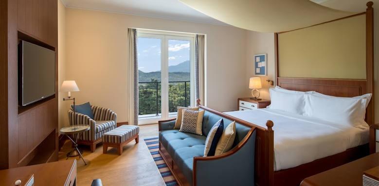 Regent Porto Montenegro, deluxe room mountain view