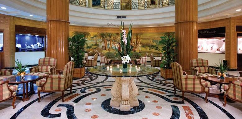 Steigenberger Nile Palace, lobby