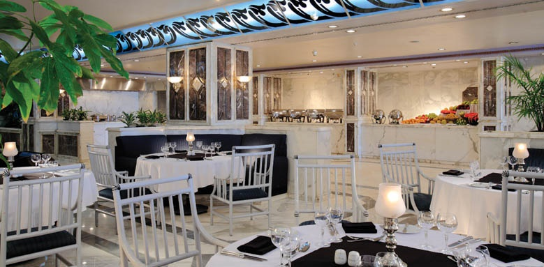 Sonesta St George Hotel, Serapis restaurant