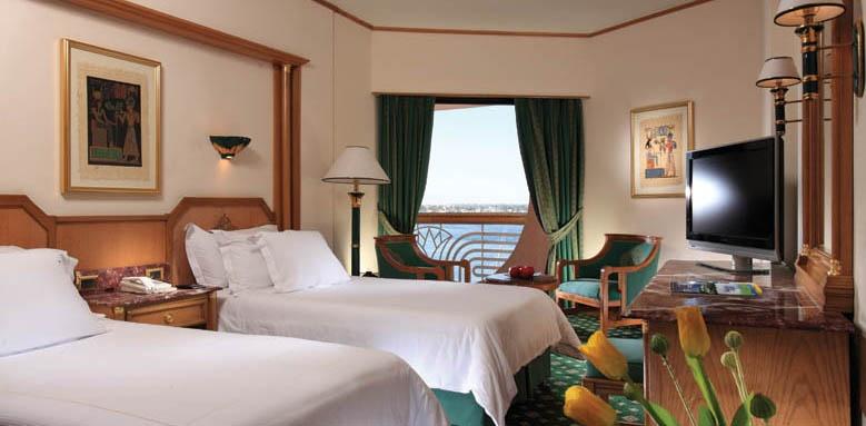 Sonesta St George Hotel, standard twin side Nile view