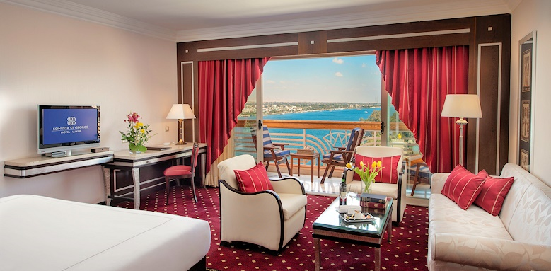 Sonesta St George Hotel, Prestige Suite Side Nile View