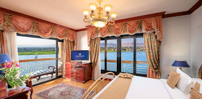 Sonesta St George Hotel, Presidential Suite Front Nile View