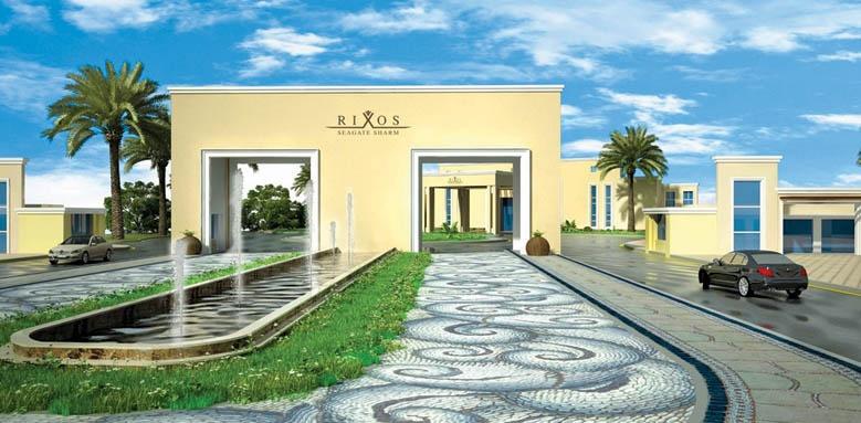 Rixos Seagate Sharm, entrance