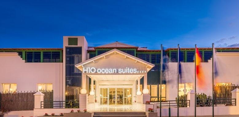 H10 Ocean Suites, Facade