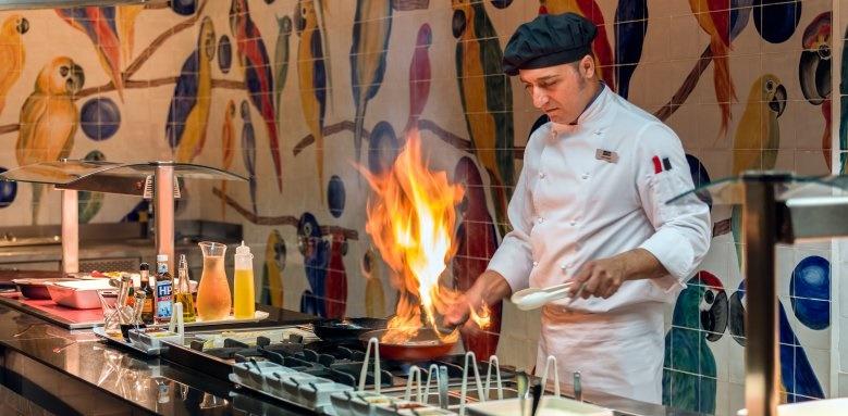 H10 Ocean Suites, chef