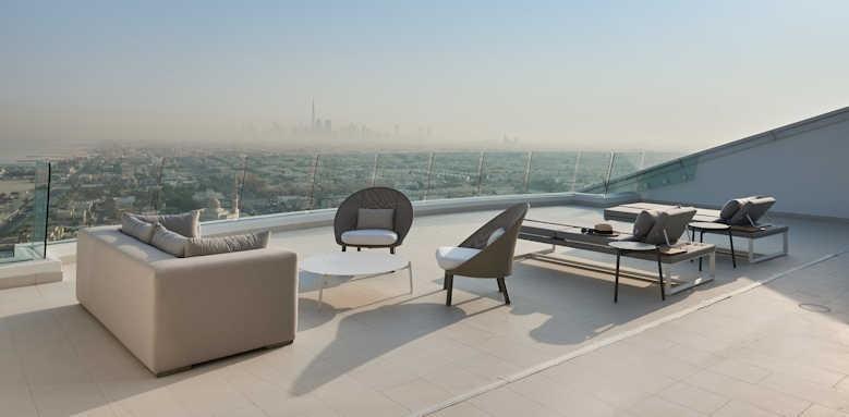 Jumeirah Beach Hotel, Three Bedroom Suite Terrace