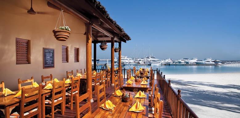 Jumeirah Beach Hotel, La Veranda terrace