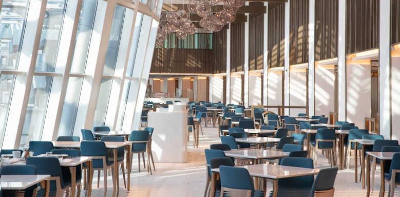Jumeirah Beach Hotel, kitchen connection