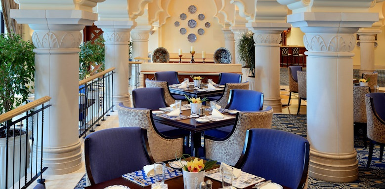 One & Only Royal Mirage - Arabian Court, La Rotisserie Restaurant