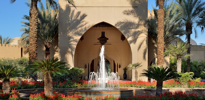 royal mirage arabian court, main entrance